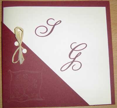 Préférence Faire-part de mariage - > Voyages, philatélie, mariage, loisirs  MU98